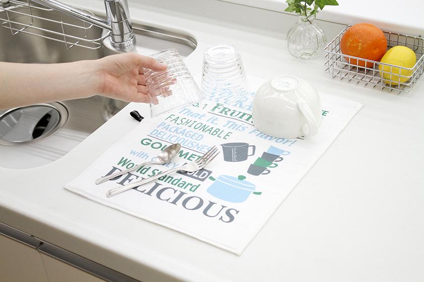 キッチン 吸水 マット